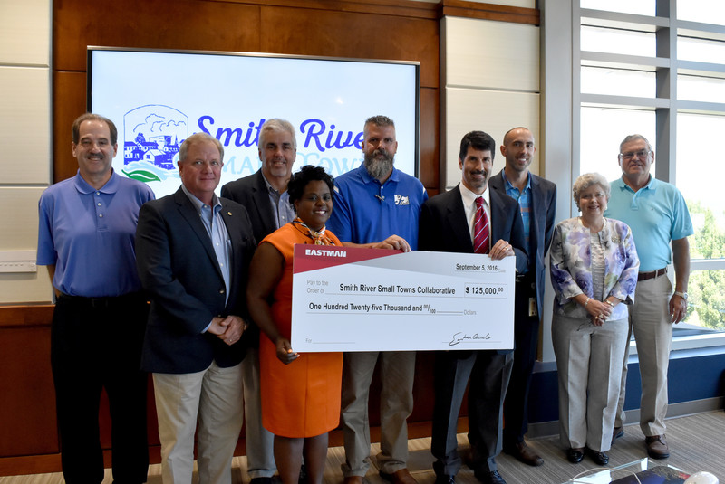 Eastman Foundation Donation to Help Revitalize Fieldale Business District