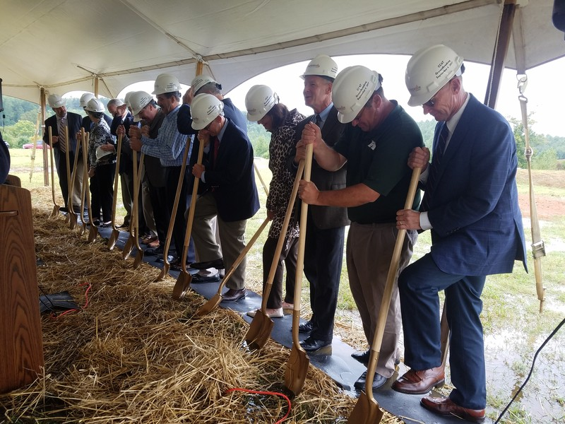 Commonwealth Centre for Advanced Training (CCAT) Breaks Ground