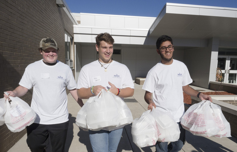 Youth Board serves more than 2,400 meals