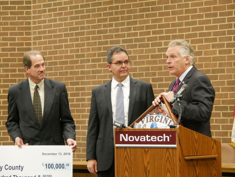 Martinsville Bulletin: Novatech announcement brings jobs to Henry County