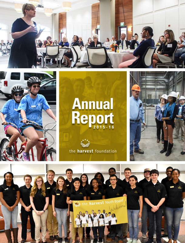 Harvest Foundation releases 2015-2016 annual report to community