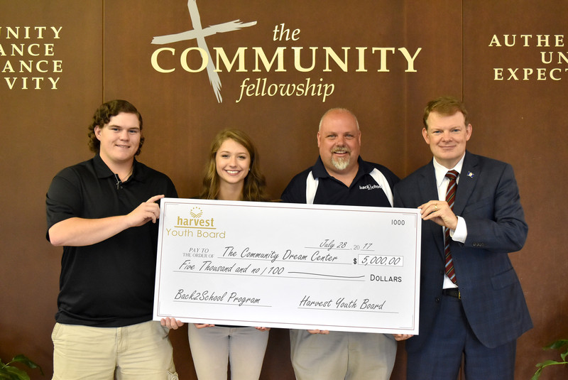 Back2School receives Harvest Youth Board grant
