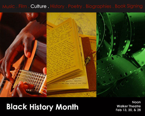 PHCC invites community to Black History Month events