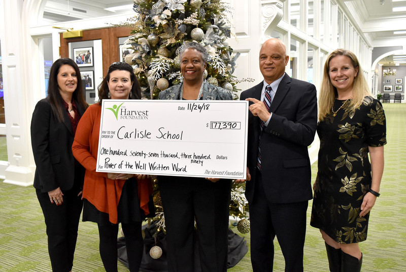 Carlisle School plans new comprehensive writing program with Harvest funding