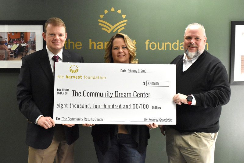Results, Community Dream Center partners with Harvest PUP! grant