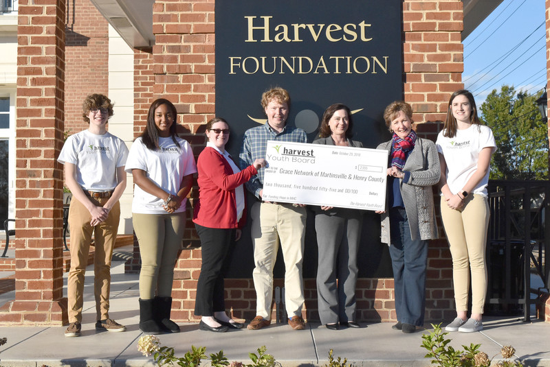 Foundation, Harvest Youth Board team up for Grace Network project