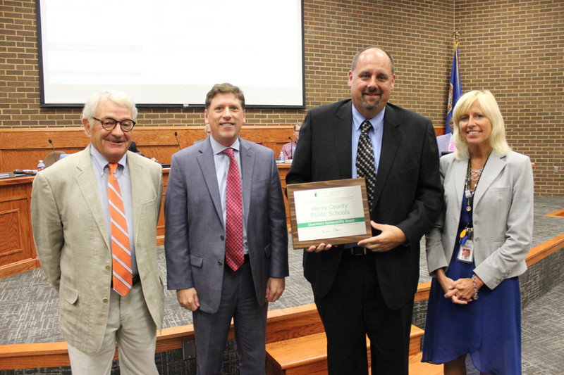 HCPS Receives Award for Outstanding Cost Savings and Achievement in Energy Conservation Program