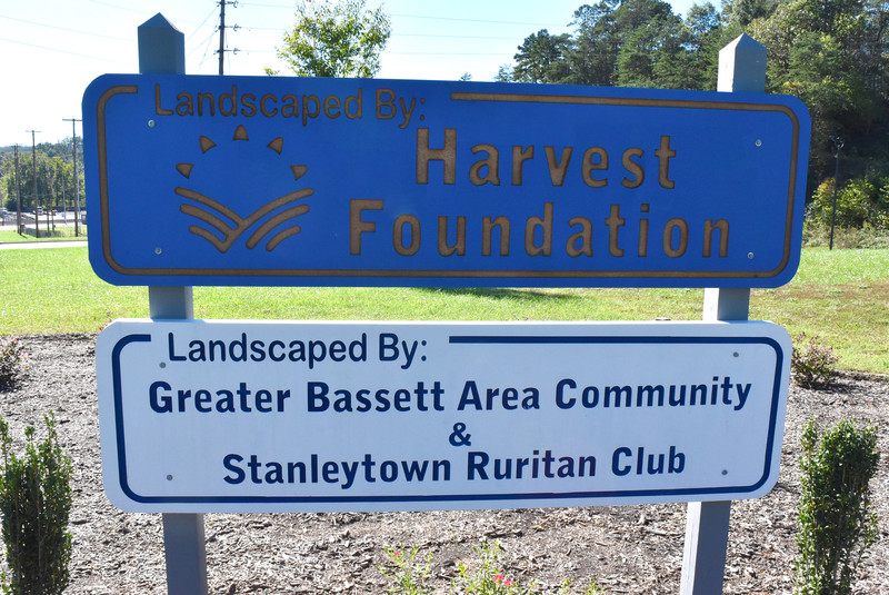 Harvest partners with Greater Bassett for community garden
