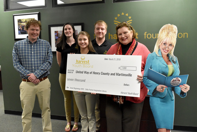 Harvest Youth Board awards $7K grant to boost area literacy