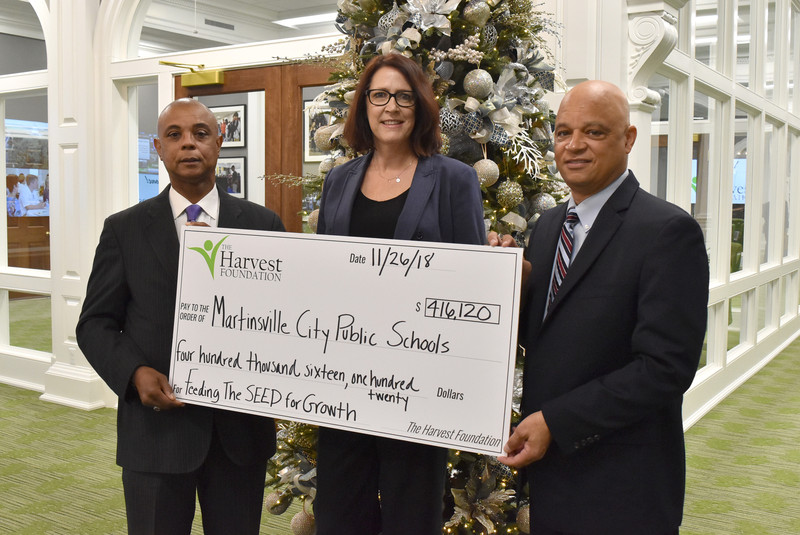 Harvest grant to help Martinsville students prepare for higher education, careers