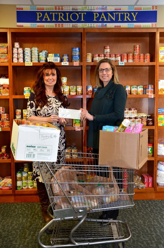 Community college's food pantry receives nearly $5,000 donation