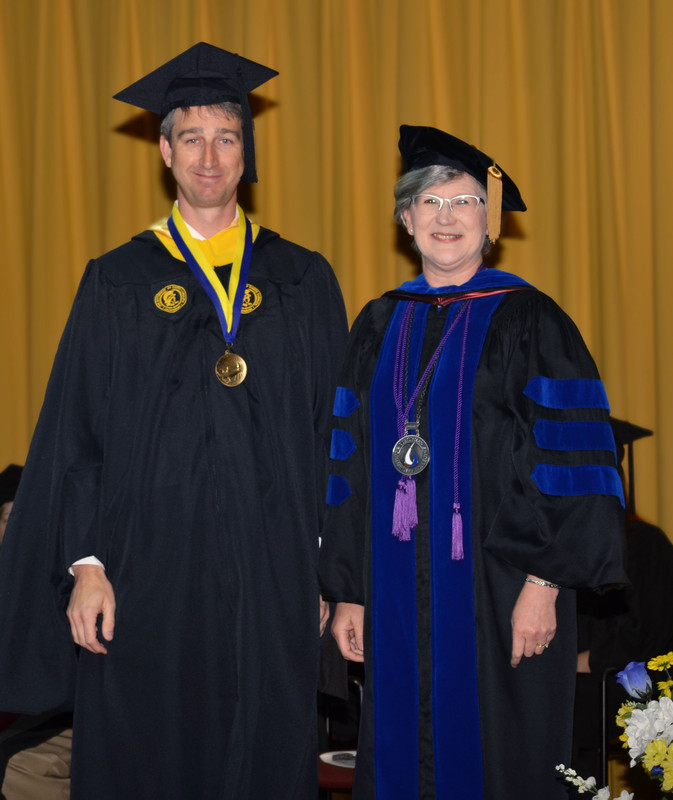 Carter honored as Teaching Faculty of the Year