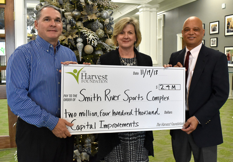 Complex to replace turf fields, make other improvements with Harvest grant