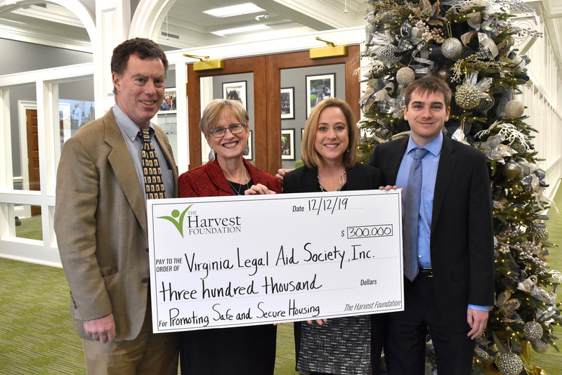 Harvest grant to establish local office for Virginia Legal Aid Society, Inc.