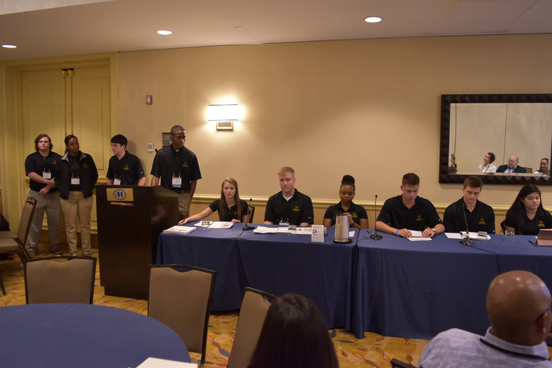 Harvest Youth Board reflects on national presentation